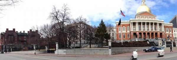 Mass statehouse & UU